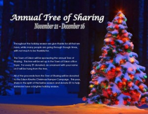 Annual Tree of Sharing @ Town of Edson  | Edson | Alberta | Canada