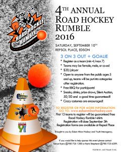 Road Hockey Rumble @ Repsol Place