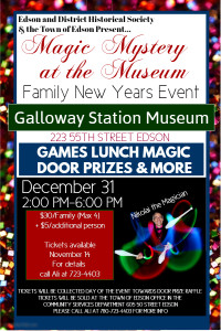 Magic Mystery at the Museum, A Family New Years Event @ Galloway Station Museum