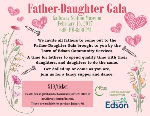 Father-Daughter Gala @ Galloway Station Museum
