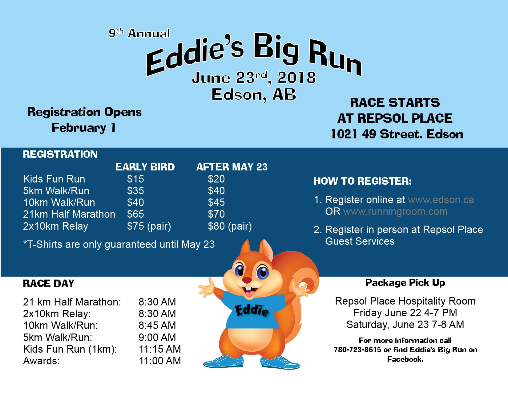 Eddie's Big Run @ Repsol Place