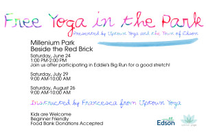 Free Yoga in the Park @ Millenium Park Beside the Red Brick