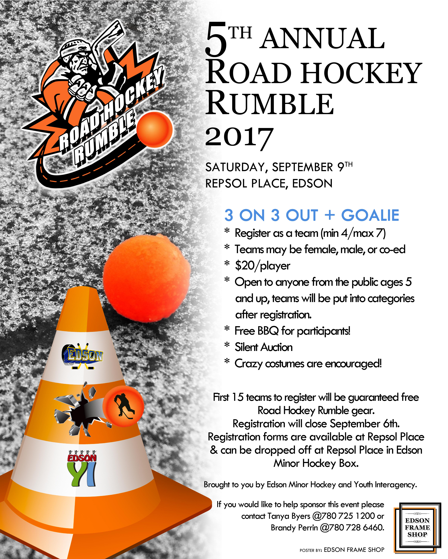 Road Hockey Rumble @ Repsol Place | Edson | Alberta | Canada