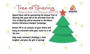 Annual Tree of Sharing at Repsol Place @ Repsol Place | Edson | Alberta | Canada