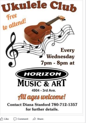 Ukulele Club @ Horizon Music