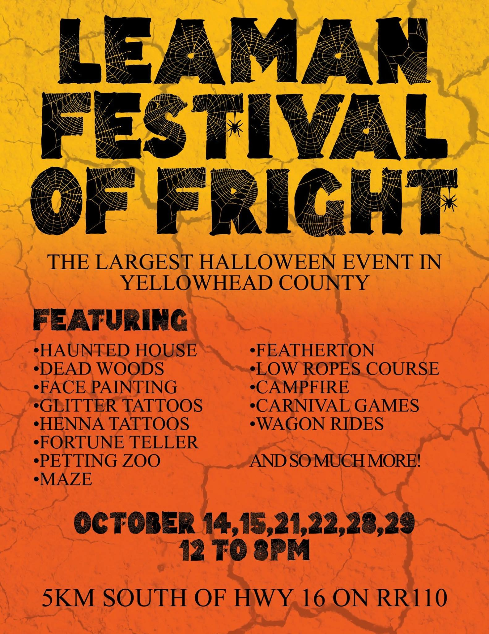 Leaman Festival of Fright