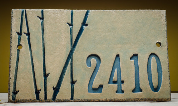 House Number Plaque Pottery | Edson and Area Events