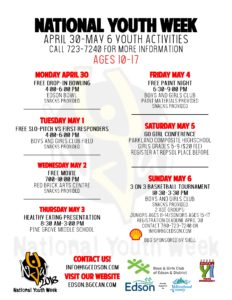 National Youth Week @ Boys and Girls Club of Edson and District | Edson | Alberta | Canada