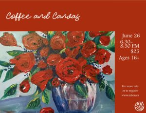 Coffee and Canvas @ Red Brick Arts Centre