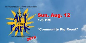 Rotary Art in the Park - Community Pig Roast @ Centennial Park