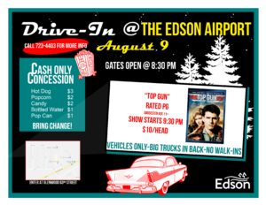 Drive-In Movie at the Edson Airport @ Edson Airport