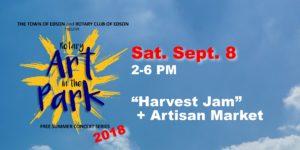 Rotary Art in the Park - Harvest Jam @ Centennial Park