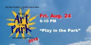 Rotary Art in the Park - Play in the Park @ Centennial Park