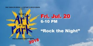 Rotary Art in the Park - Rock the Night @ Centennial Park