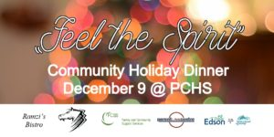 Feel the Spirit - Community Holiday Dinner @ Parkland Composite High School