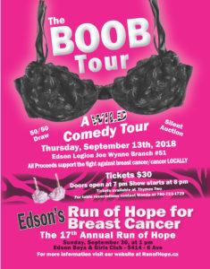 8th Annual Boob Tour Comedy Show @ Edson Royal Canadian Legion #51 | Edson | Alberta | Canada