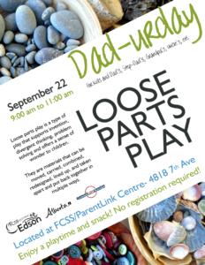 Dad-urday @ FCSS/ParentLink Centre | Edson | Alberta | Canada