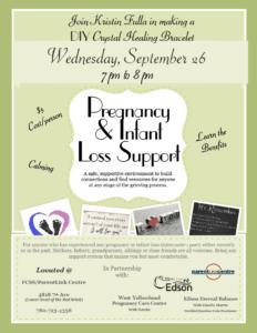 Infant Loss @ FCSS/ParentLink Centre | Edson | Alberta | Canada