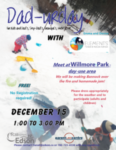 Dad-urday with Elements Forest School @ Willmore Park