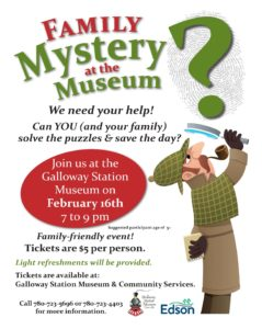 Family Mystery at the Museum @ Galloway Station Museum