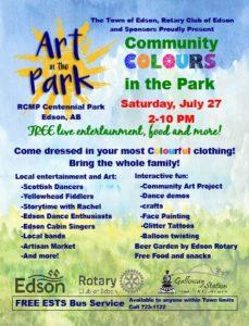 Art in the Park Community Colors in the Park @ Centennial Park