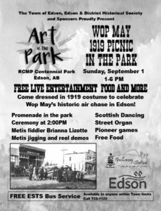 Art in the Park Wop May 1919 Picnic in the Park @ Centennial Park
