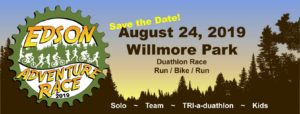 Edson Adventure Race- a duathlon event @ Willmore Park