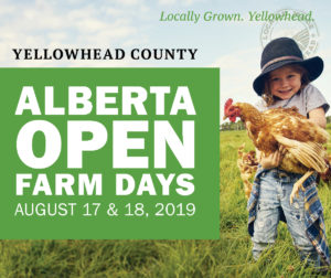 Alberta Open Farm Days FREE Self-Guided Tour @ Yellowhead County - Various Locations