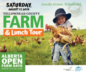 Alberta Open Farm Days Self-Guided Tour @ Various Locations in Yellowhead County