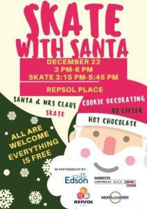 Skate with Santa @ Repsol Place