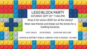 LEGO Block Party @ Edson & District Public Library