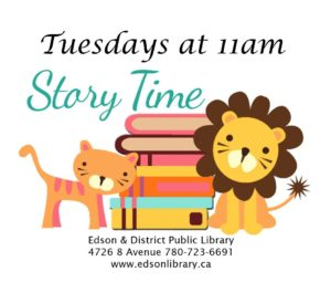 Story Time @ Edson & District Public Library