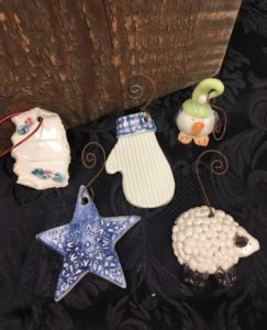 """Kids Clay """"Christmas Ornament"""" Class @ Edson Craft Center and Potters Guild"""