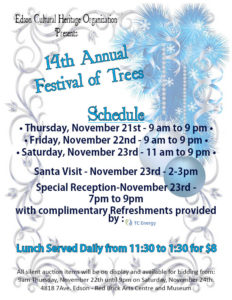 14th Annual Festival of Trees @ Red Brick Arts Centre and Museum