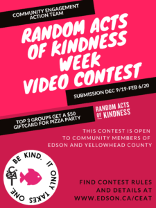 Random Acts of Kindness Video Contest @ Community Services
