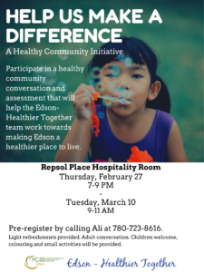 Edson-Healthier Together-Community Conversation @ Repsol Place Hospitality Room