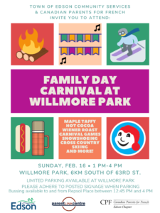 Family Day Carnival at Willmore Park @ Willmore Park