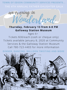 Father-Daughter Gala-An Evening in Wonderland @ Galloway Station Museum