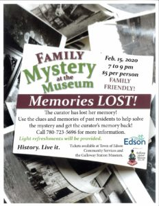 Family Mystery at the Museum @ Galloway Station Museum and Travel Centre