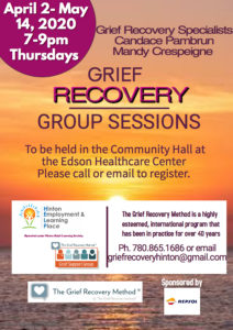 Grief Recovery Sessions @ Candace Pambrun