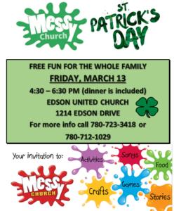 Messy Church @ Edson United Church