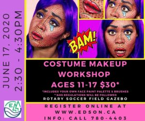 Costume Makeup Workshop @ Rotary Soccer Field Gazebo